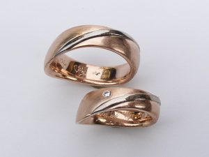 Trauring Rosegold