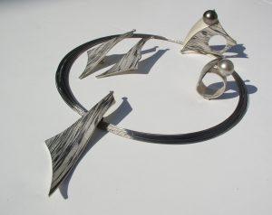 Set Palladium Silber bicolor