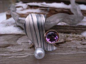 Collier Ring Palladium