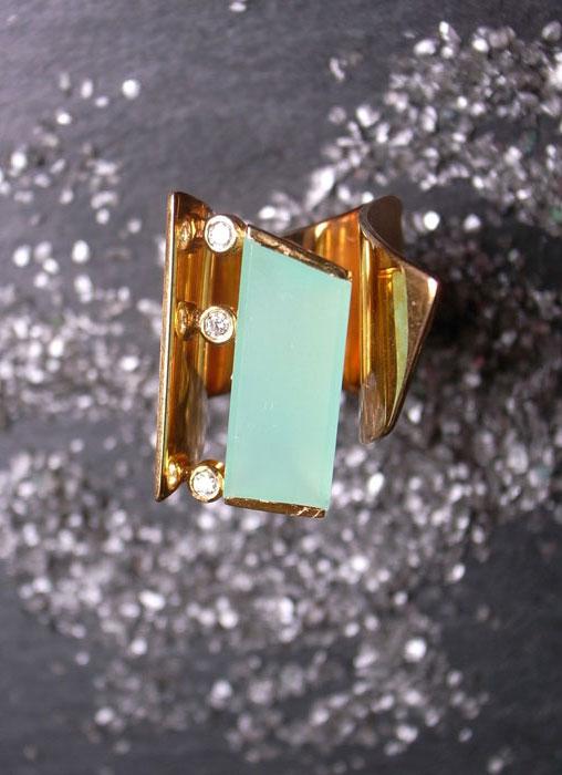 Ring CHRYSO FUTURE von Stephanie Henzler - Goldschmiede-Atelier