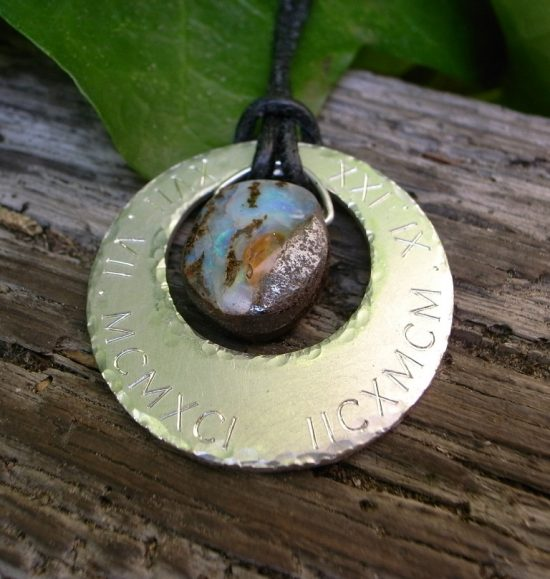 Anhänger auf Kundenwunsch Silber Opal von Stephanie Henzler - Goldschmiede-Atelier