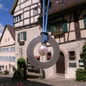 ein Glücksbringer in der Nürtinger Altstadt