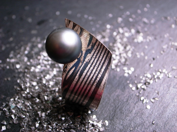 StephanieHenzler Ring MARBLED