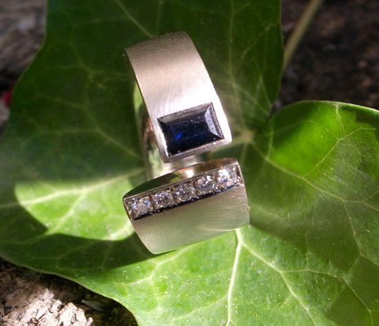 StephanieHenzler (Umarbeitung) Alte Steine in neuem Ringdesign